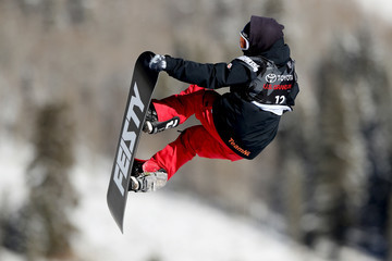 Cheryl Maas 2017 U.S. Snowboarding Grand Prix at Copper - Halfpipe Skiing Finals & Big Air Snowboarding Qualification