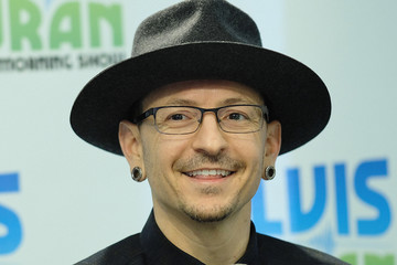 Chester Bennington Chester Bennington Visits 'The Elvis Duran Z100 Morning Show'