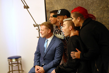 Chester Lockhart Behind The Scenes Of The Getty Images Portrait Studio Powered By Samsung Galaxy At 2015 Summer TCA's