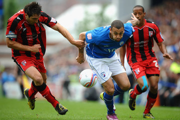 Gary Richards Chesterfield v Gillingham - npower League Two