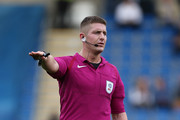 Referee Robert Jones in action during the Sky Bet League One match between Chesterfield  and Northampton Town at Proact Stadium on September 17, 2016 in Chesterfield, England.