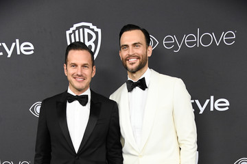 Cheyenne Jackson Warner Bros. Pictures and InStyle Host 18th Annual Post-Golden Globes Party - Arrivals
