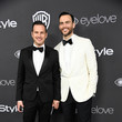 Cheyenne Jackson Jason Landau Warner Bros. Pictures and InStyle Host 18th Annual Post-Golden Globes Party - Arrivals