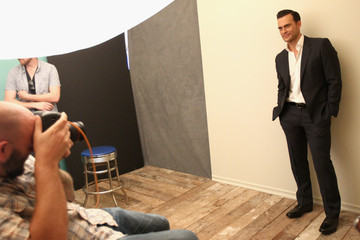 Cheyenne Jackson Behind The Scenes Of The Getty Images Portrait Studio Powered By Samsung Galaxy At 2015 Summer TCA's