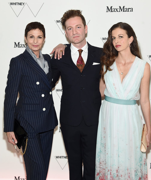 Max Mara, Presenting Sponsor, Celebrates The Opening Of The Whitney Museum Of American Art - Arrivals [presenting sponsor celebrates the opening of the whitney museum of american art,suit,clothing,formal wear,hairstyle,fashion,tuxedo,event,dress,premiere,white-collar worker,arrivals,chiara clemente,sponsor,tyler thompson,l-r,location,alba climente,max mara,opening]