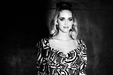 Chiara Ferragni Aniye By Fashion Show - Front Row