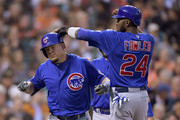 Dexter Fowler and Kyle Schwarber Photos Photo