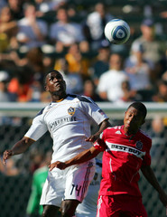 Mike Banner Chicago Fire v Los Angeles Galaxy
