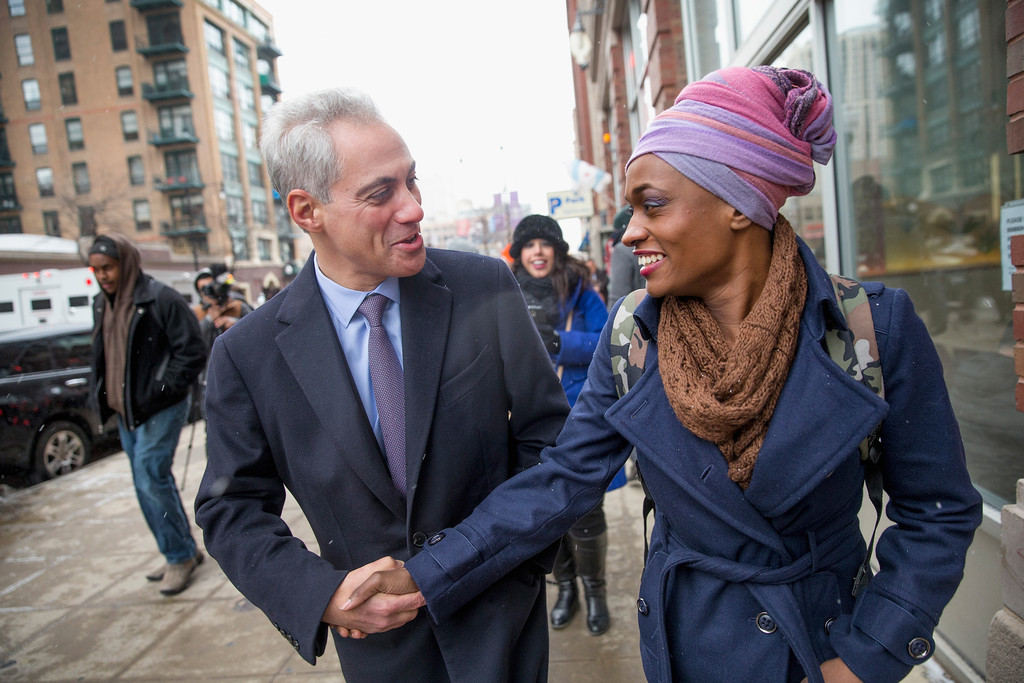 Rahm Emanuel Photos - Chicago Mayoral Candidates Campaign ...