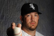 Brad Penny #46 of the Chicago White Sox poses for a portrait during Photo Day on February 28, 2015 at Camelback Ranch-Glendale in Glendale, Arizona.
