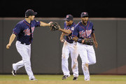 Josh Willingham and Denard Span Photos Photo