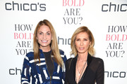 TV Personalities Heather Thomson and Carole Radziwill attend Chico's #HowBoldAreYou NYC Event at Joe's Pub on March 12, 2018 in New York City.