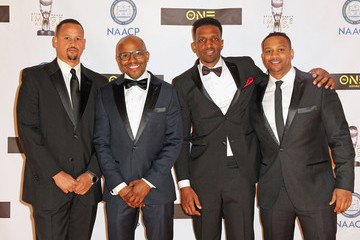 Chike Ozah TV One at the 47th NAACP Image Awards