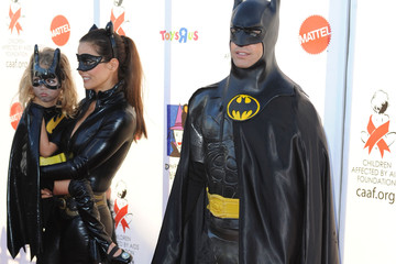 Brooke Burke David Charvet Children Affected By AIDS Foundation's 17th Annual Dream Halloween Event - Arrivals