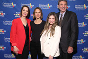 "(L-R) Alex Carter, Natalie Portman, Danielle Fishel Karp and Paul S. Viviano attend Children's Hospital Los Angeles' 5th annual ""Make March Matter"" fundraising campaign kick-off at Childrens Hospital Of Los Angeles on March 02, 2020 in Los Angeles, California."