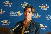 Actor Chris Pine attends the Children's Hospital Los Angeles fourth annual Make March Matter fundraising campaign kick-off event at Children's Hospital Los Angeles on March 04, 2019 in Los Angeles, California.