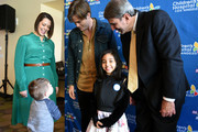 Alex Carter, Kairi, Chris Pine, Paul S. Viviano, Elliot attend the Children's Hospital Los Angeles fourth annual Make March Matter fundraising campaign kick-off event at Children's Hospital Los Angeles on March 04, 2019 in Los Angeles, California.