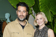 Jonathan Simkhai and January Jones attend Children's Hospital Los Angeles Make March Matter Fundraising Campaign at Jonathan Simkhai on March 10, 2020 in West Hollywood, California.