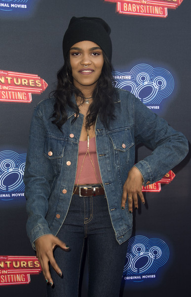 China Anne Mcclain Photos Premiere Of 100th Disney Channel Original Movie