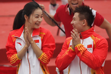 Chen Yibing China Marks 100 Day Countdown To London Olympic Games