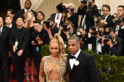 """Beyonce and Jay Z attend the """"China: Through The Looking Glass"""" Costume Institute Benefit Gala at the Metropolitan Museum of Art on May 4, 2015 in New York City."""