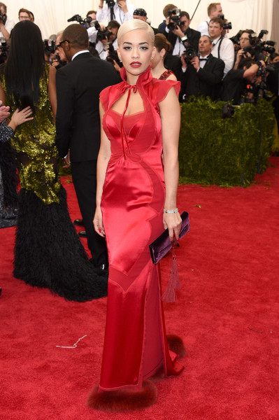 Rita Ora in Tom Ford