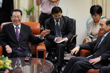 Wi Sung-lac Chinese Chief Nuclear Envoy Visits South Korea