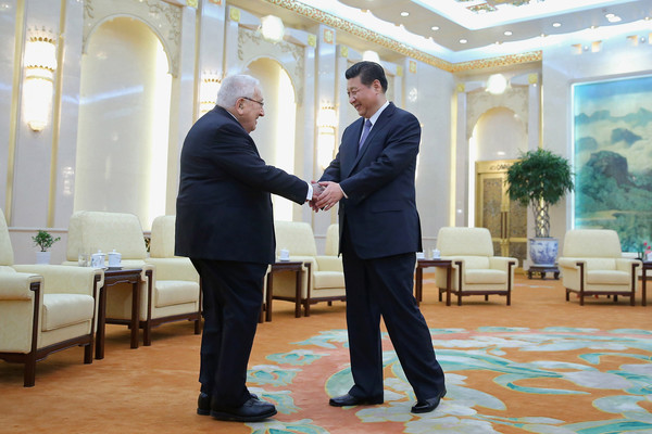 Xi Jinping Meets with Henry Kissinger