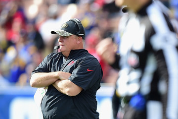 Chip Kelly San Francisco 49ers v Los Angeles Rams