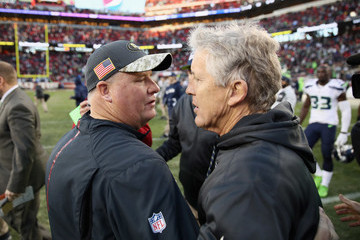 Chip Kelly Seattle Seahawks v San Francisco 49ers