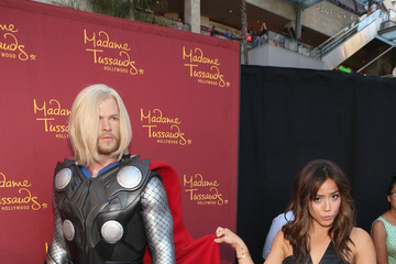 Chloe Bennet Marvel Wax Figures Unveiled in Hollywood