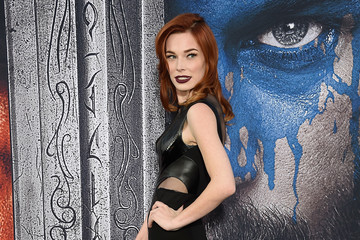 Chloe Dykstra Premiere Of Universal Pictures' 'Warcraft' - Arrivals