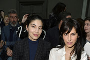 (L-R) Caroline Issa and Caroline Sieber attend the Chloe show as part of the Paris Fashion Week Womenswear Fall/Winter 2015/2016 on March 8, 2015 in Paris, France.