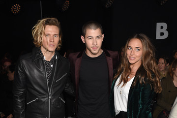Chloe Green Front Row: Day 1 - London Collections Men AW16