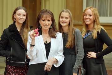 Chloe Green Investitures at Buckingham Palace