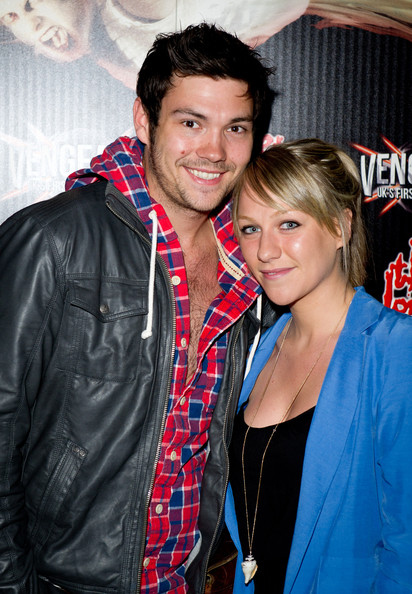 Chloe Madeley Sam Attwater Photos Vengeance Premiere At The London