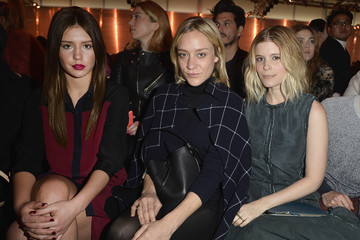 Chloe Sevigny Louis Vuitton : Front Row  - Paris Fashion Week Womenswear Fall/Winter 2014-2015