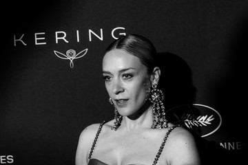 Chloe Sevigny Kering And Cannes Film Festival Official Dinner - Photocall - At The 71st Cannes Film Festival