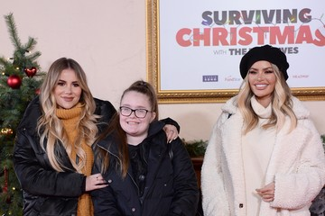 Chloe Sims 'Surviving Christmas With The Relatives' World Premiere - Red Carpet Arrivals