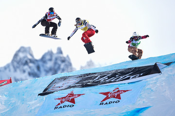 Chloe Trespeuch FIS Freestyle Ski World Cup - Men's and Women's Snowboardcross