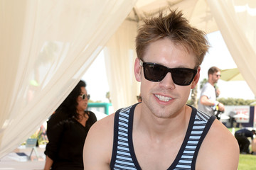 Chord Overstreet LACOSTE Beautiful Desert Pool Party - Day 2
