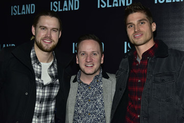 Chord Overstreet Island Records Holiday Party at Avenue