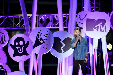 Chord Overstreet Guests Attend the MTV Fandom Awards in San Diego