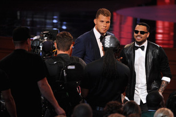 Chris Brown Inside the 2014 ESPYS — Part 2