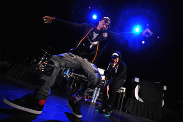 Tevin Chris Brown, Ben J And Legacy And The New Boyz Perform At The Avalon