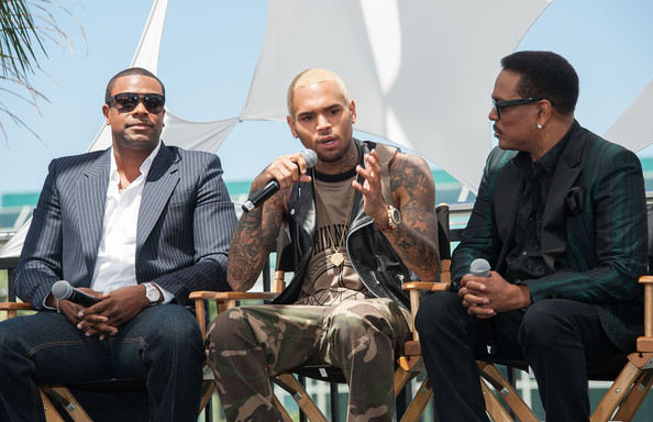 3cf83f0baa1f Chris Brown and Charlie Wilson Photos Photos - Celebs at the BET ...