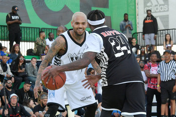 Chris Brown adidas Creates 747 Warehouse St. in Los Angeles - An Event in Basketball Culture