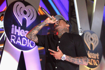 Chris Brown The iHeartRadio Summer Pool Party - Show