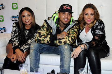Chris Brown Backstage at Power 105.1's Powerhouse
