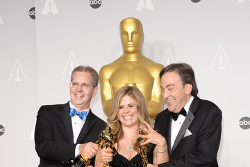 Chris Buck Press Room at the 86th Annual Academy Awards